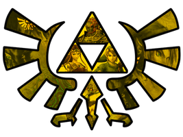 Twilight Princess Triforce by RainbowOnHigh