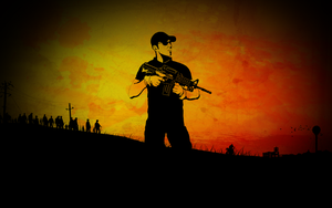 DayZ Wallpaper by robfleet