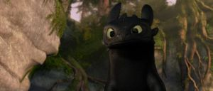 How To Train Your Dragon Screencap - Toothless by DashieSparkle