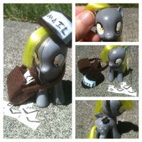 MLP:FIM Custom Filly *Derpy Hooves!* W/ Accessorie by FireflyLC