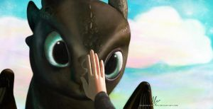 Toothless'ForbiddenFriendship by masochisticlove