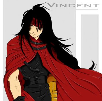 Vincent Valentine by Yoishi