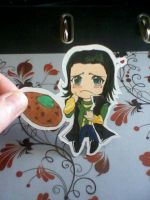 Loki Paperchild by Takuichi
