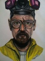 Walter White Drawing by PencilRick