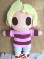 Smash Bros. Dojo Lucas Plush by VioletLunchell