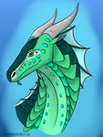 Driftwood the Seawing by ZombieKiller52