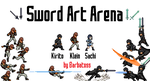 Sword Art Arena game project logo by Barbatoss