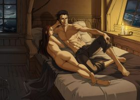 Karelle and Guillaume by Orpheelin
