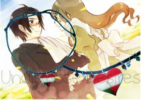 APH - Hungary x Austria - Heart Necklaces by Undisclose--Desires
