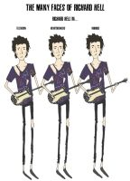 the many faces of richard hell by dancehall21