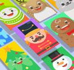 Xmasland Christmas characters design by Lemongraphic