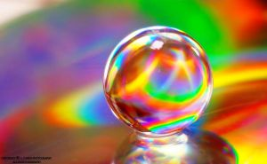 rainbow ball by lindahabiba