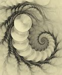 Pencilled Spiral by FractalRock
