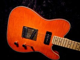 '11 Red Rocket Custom Guitars - Bourbon Burst Tele by serhanyenilmez
