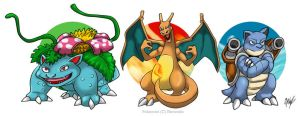 Pokemon G1 Starter by MikeOrion
