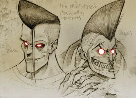the nightshifters by aletsander