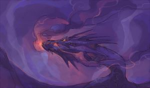 Smaug by Drkav