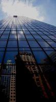 The Heavenly Ascent of the Window Washers by jwebbermedia