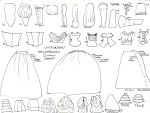 Victorian Edwardian Gown Chart by DollClothesExchange