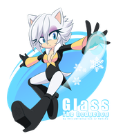 -:: Glass - Sonic Style - ::- by RE-sublimity-kun