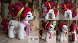 Cherry Jubilee Plush Purse by meplushyou
