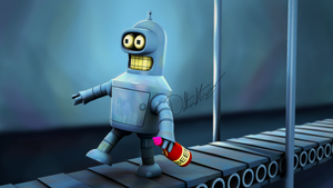 Bender the Small by Legionforce