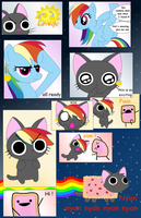 Nyan cat, the origins by magico-enma