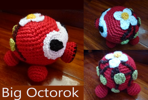Big Octorok amigurumi by crocheter