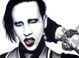 Marilyn Manson by lamotta94