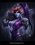 Widowmaker fan art by Zeablast