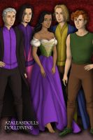 The Hunchback of Notredame Crew by lovepeacebubble121x