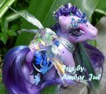 little pony custom fairy Iris by AmbarJulieta