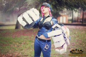 Officer VI League Of Legends by AxelTakahashiVIII