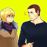 RE6- Sherry and Jake by zamzaam