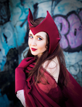 The Scarlet Witch by The-MoonSquid