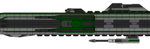 Irritant II class Cruiser by captainIronstar