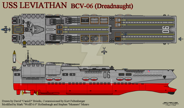 USS Leviathan by Wolff60