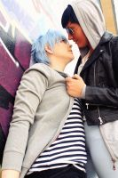 I just wanna play a game [AoKuro] by Tenshiii3