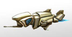 New Concept Art Ship by cml913