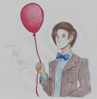 11th Doctor fanart colored by AoiNaito