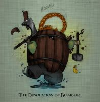 The Desolation of Bombur by justjingles