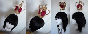 Queen of hearts wig from Alice Madness Returns by taiyowigs