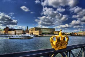 Postcard from Stockholm 2 by carlzon