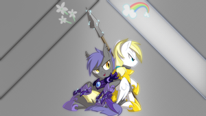 Midnight Blossom and Cloud Skipper by Shawnyall