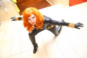 black widow by neoangelwink