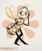 Bee by AronDraws