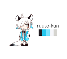 Palette Adopt- ruuto-kun 1/2 by CrybabyPippo