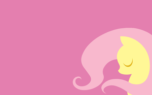 MLP:FIM Fluttershy Wallpaper by Moustache147