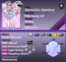 PKMNA - Second Character - Carmilla Opaline by TokenDuelist