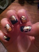Hunger Games Nails! by iceyninjagurl